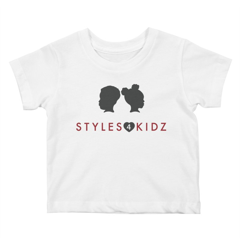 Styles 4 Kidz - White Kids Baby T-Shirt by STYLES 4 KIDZ, NFP