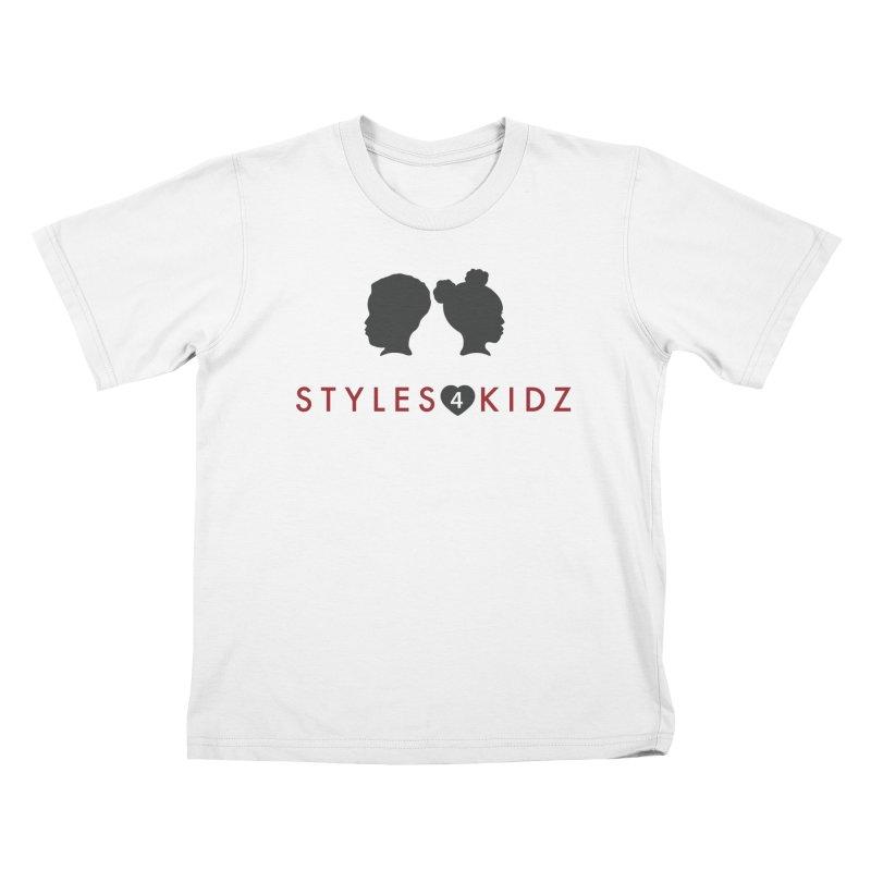 Styles 4 Kidz - White Kids T-Shirt by STYLES 4 KIDZ, NFP