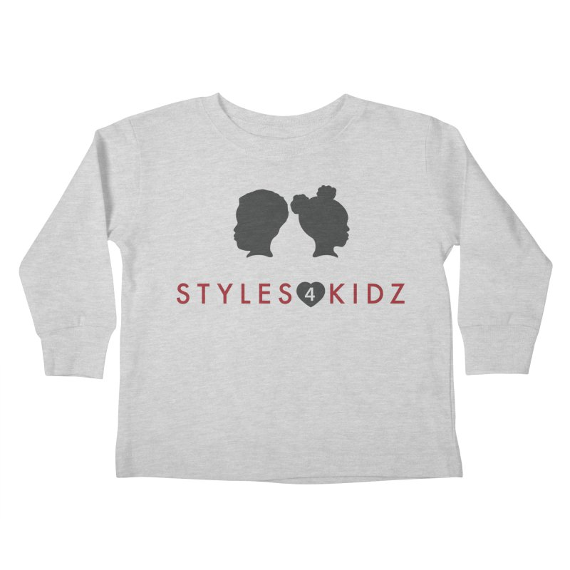 Styles 4 Kidz - White Kids Toddler Longsleeve T-Shirt by STYLES 4 KIDZ, NFP