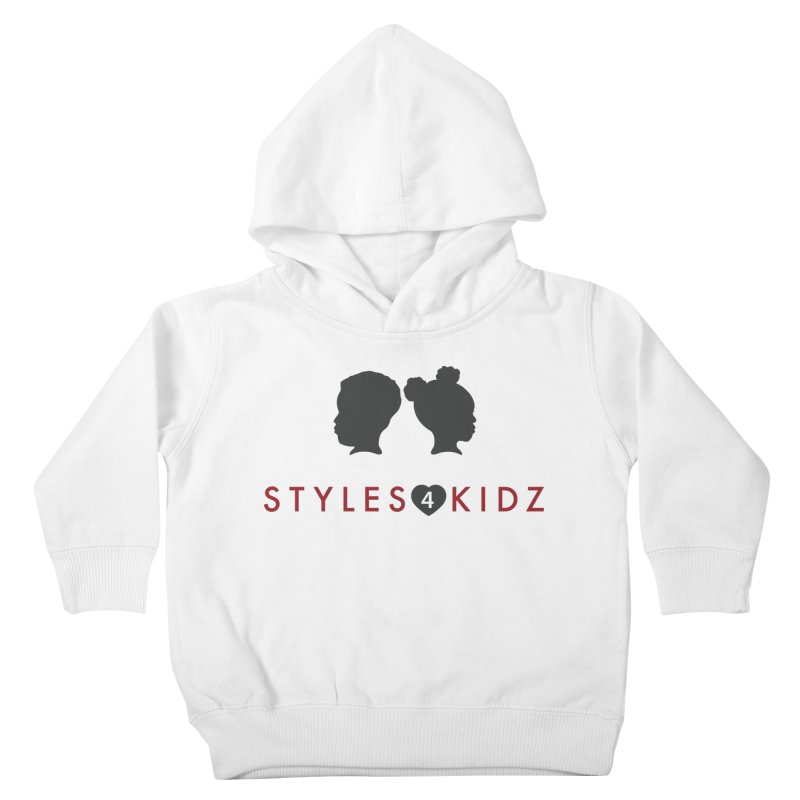 Styles 4 Kidz - White Kids Toddler Pullover Hoody by STYLES 4 KIDZ, NFP