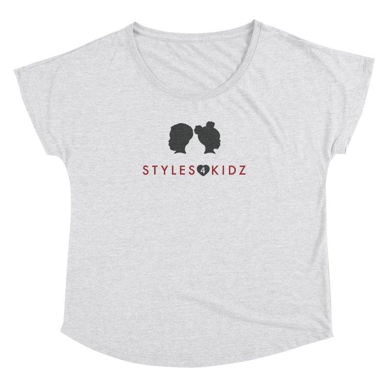 Styles 4 Kidz - White Women's Dolman Scoop Neck by STYLES 4 KIDZ, NFP