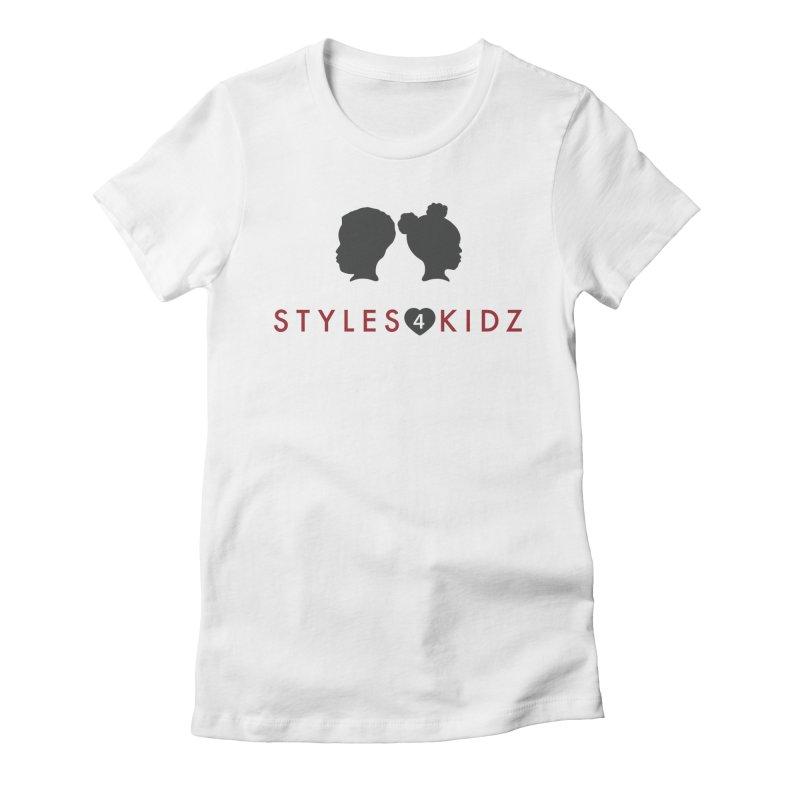 Styles 4 Kidz - White Women's T-Shirt by STYLES 4 KIDZ, NFP