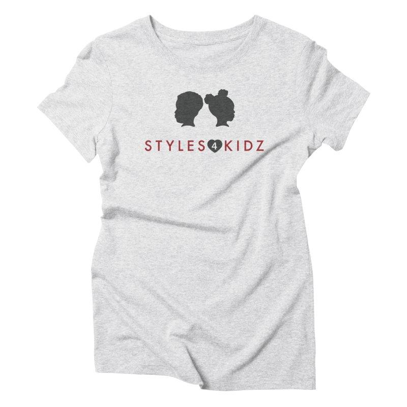 Styles 4 Kidz - White Women's Triblend T-Shirt by STYLES 4 KIDZ, NFP