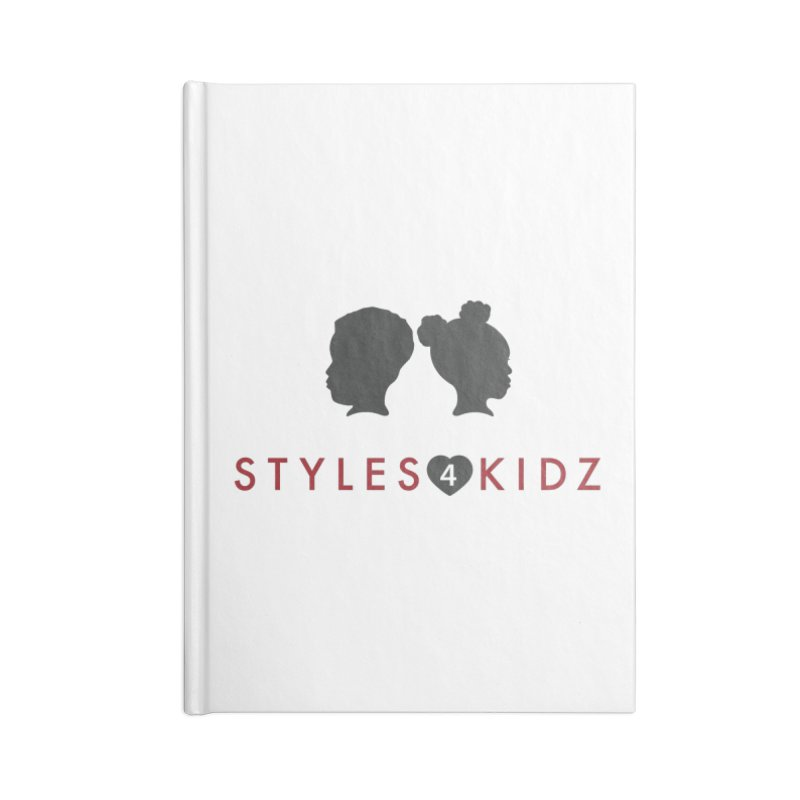 Styles 4 Kidz - White Accessories Lined Journal Notebook by STYLES 4 KIDZ, NFP