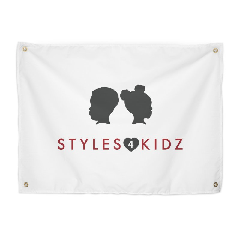 Styles 4 Kidz - White Home Tapestry by STYLES 4 KIDZ, NFP