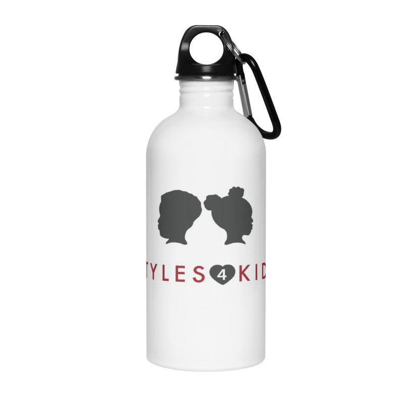 Styles 4 Kidz - White Accessories Water Bottle by STYLES 4 KIDZ, NFP