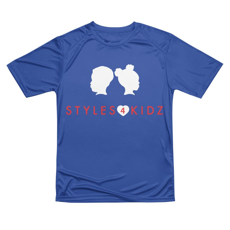Styles 4 Kidz - Blue Men's T-Shirt by STYLES 4 KIDZ, NFP