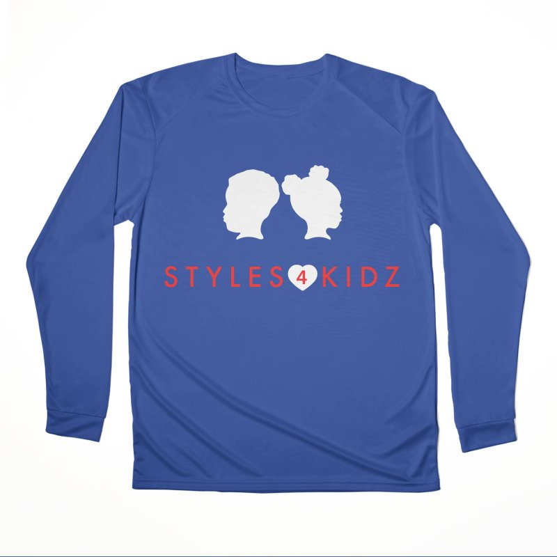 Styles 4 Kidz - Blue Women's Performance Unisex Longsleeve T-Shirt by STYLES 4 KIDZ, NFP