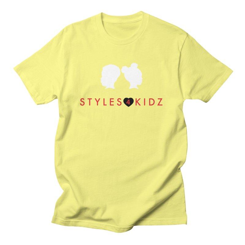 Styles 4 Kidz - Yellow Men's T-Shirt by STYLES 4 KIDZ, NFP