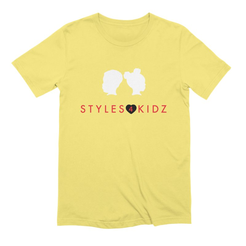 Styles 4 Kidz - Yellow Men's Extra Soft T-Shirt by STYLES 4 KIDZ, NFP
