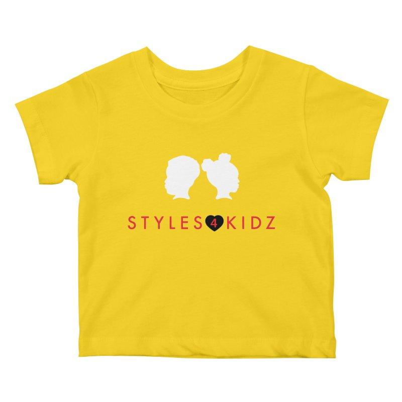Styles 4 Kidz - Yellow Kids Baby T-Shirt by STYLES 4 KIDZ, NFP