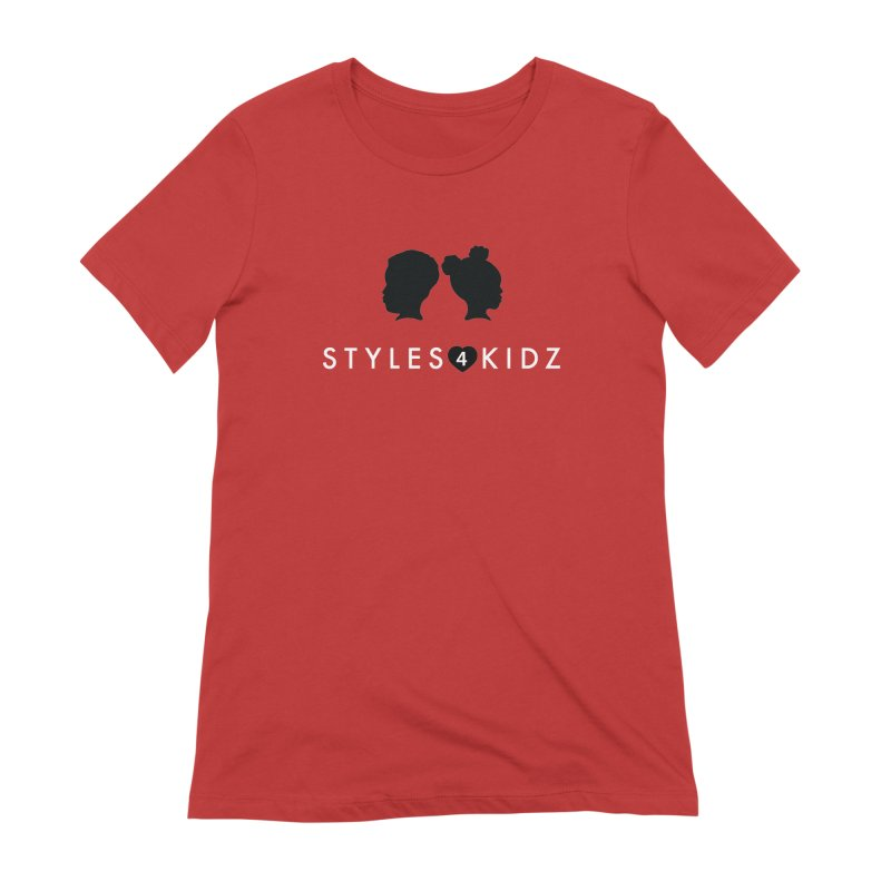 Styes 4 Kidz - Red Women's Extra Soft T-Shirt by STYLES 4 KIDZ, NFP