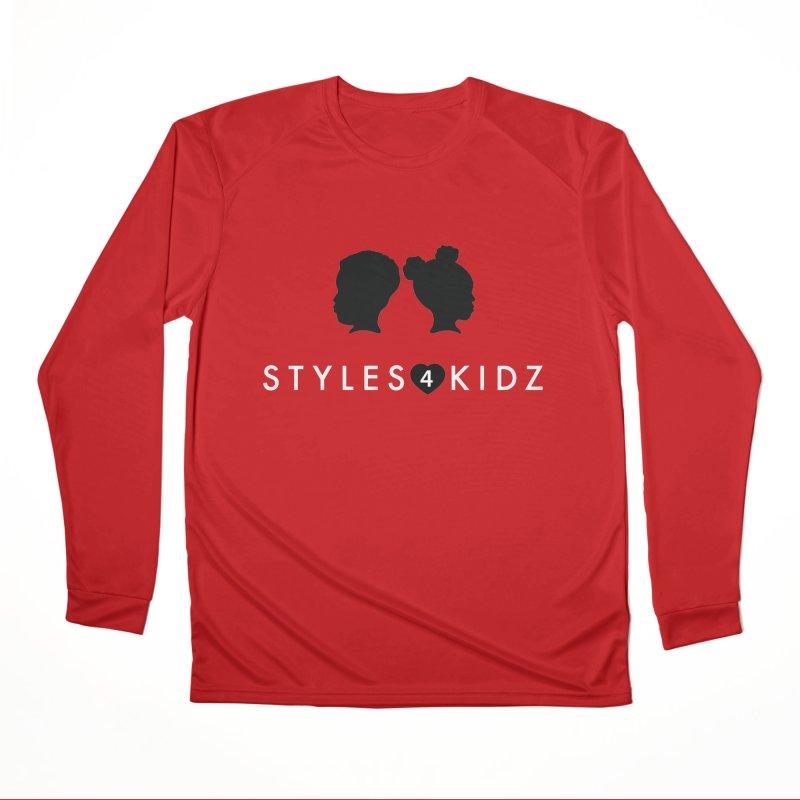 Styes 4 Kidz - Red Women's Performance Unisex Longsleeve T-Shirt by STYLES 4 KIDZ, NFP