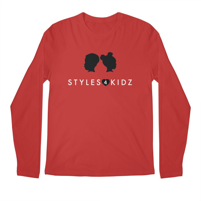 Styes 4 Kidz - Red Men's Longsleeve T-Shirt by STYLES 4 KIDZ, NFP