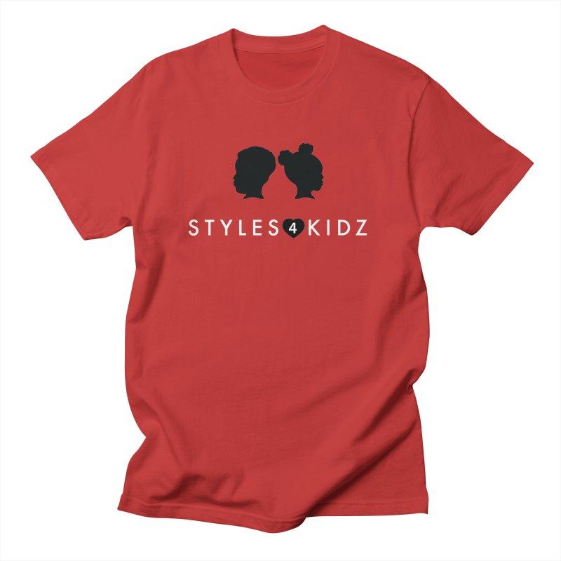 Styes 4 Kidz - Red Men's T-Shirt by STYLES 4 KIDZ, NFP