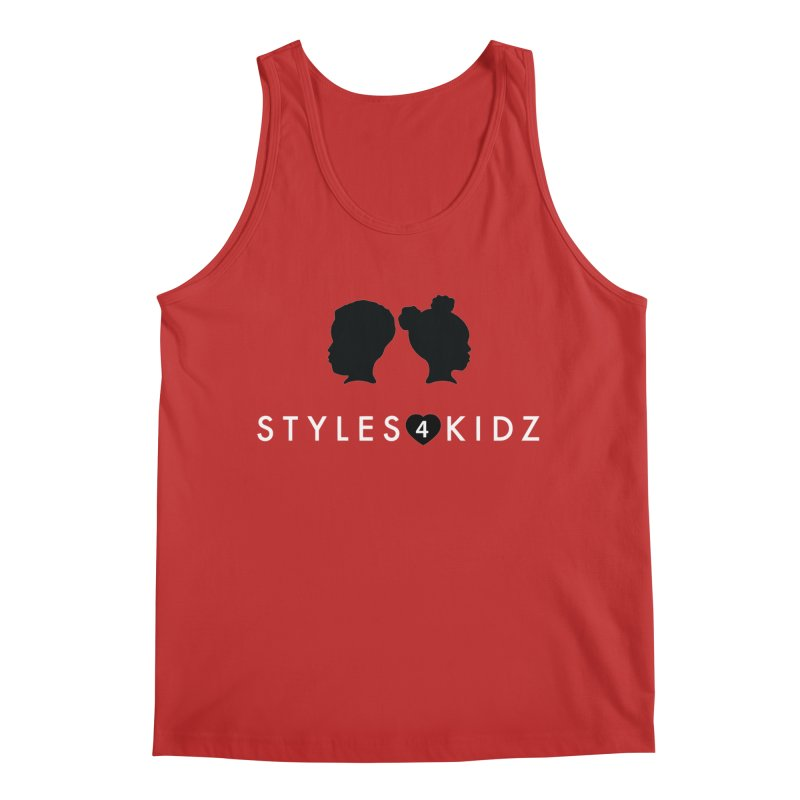 Styes 4 Kidz - Red Men's Regular Tank by STYLES 4 KIDZ, NFP