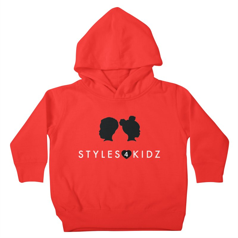 Styes 4 Kidz - Red Kids Toddler Pullover Hoody by STYLES 4 KIDZ, NFP