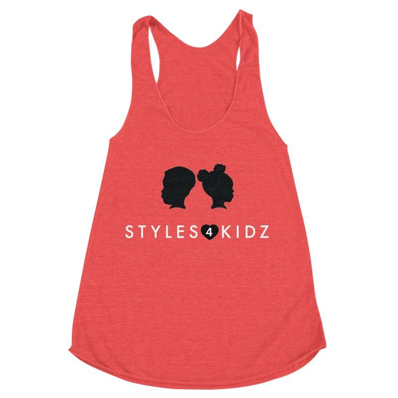 Styes 4 Kidz - Red Women's Racerback Triblend Tank by STYLES 4 KIDZ, NFP