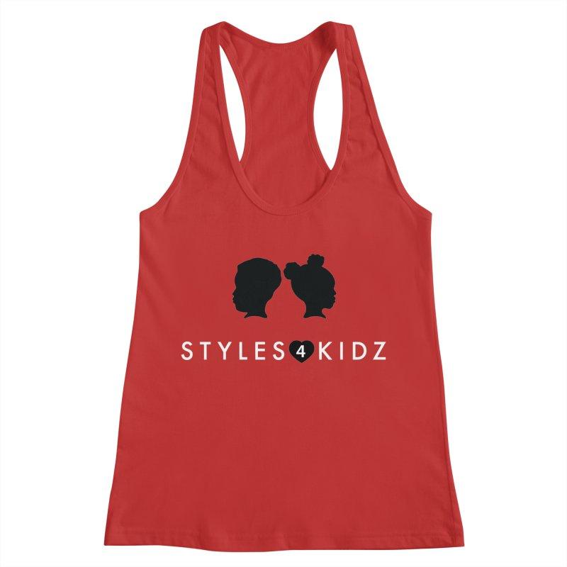 Styes 4 Kidz - Red Women's Racerback Tank by STYLES 4 KIDZ, NFP