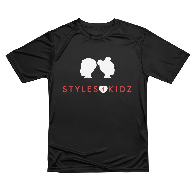 Styles 4 Kidz - Black Men's Performance T-Shirt by STYLES 4 KIDZ, NFP