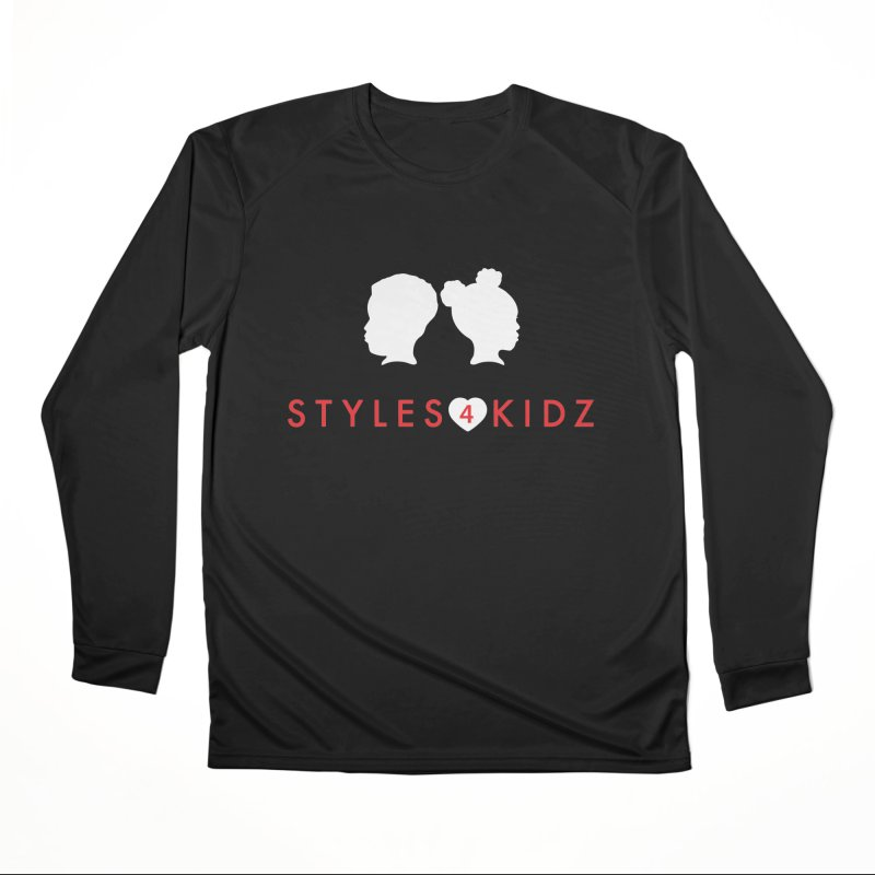 Styles 4 Kidz - Black Women's Performance Unisex Longsleeve T-Shirt by STYLES 4 KIDZ, NFP