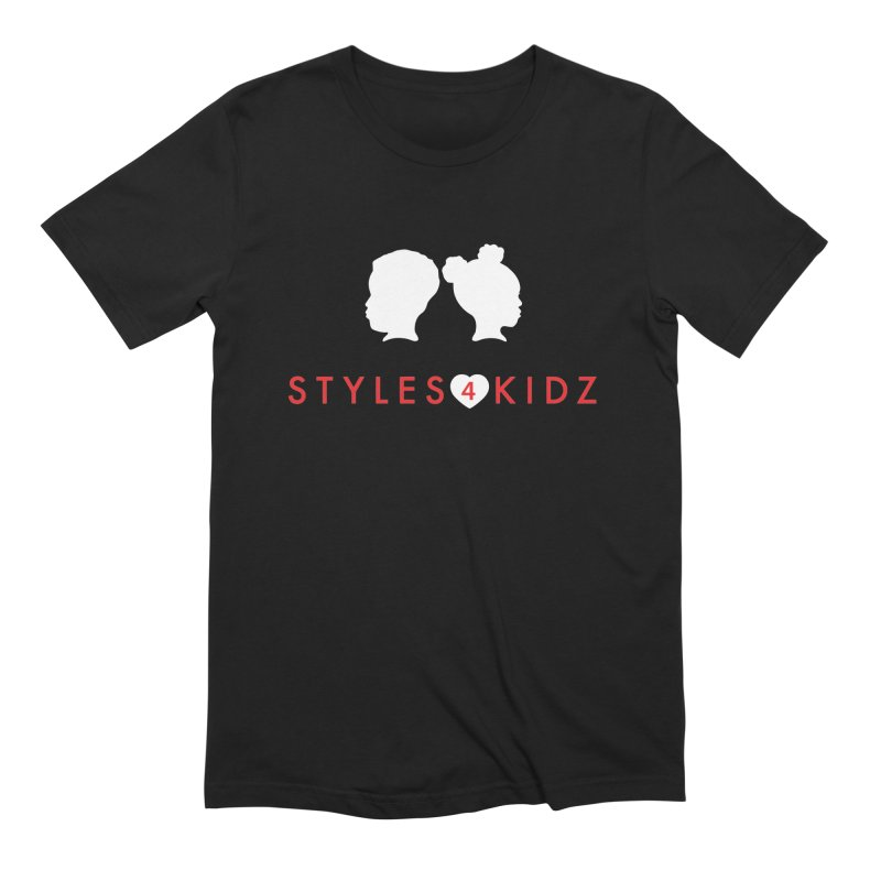 Styles 4 Kidz - Black Men's Extra Soft T-Shirt by STYLES 4 KIDZ, NFP