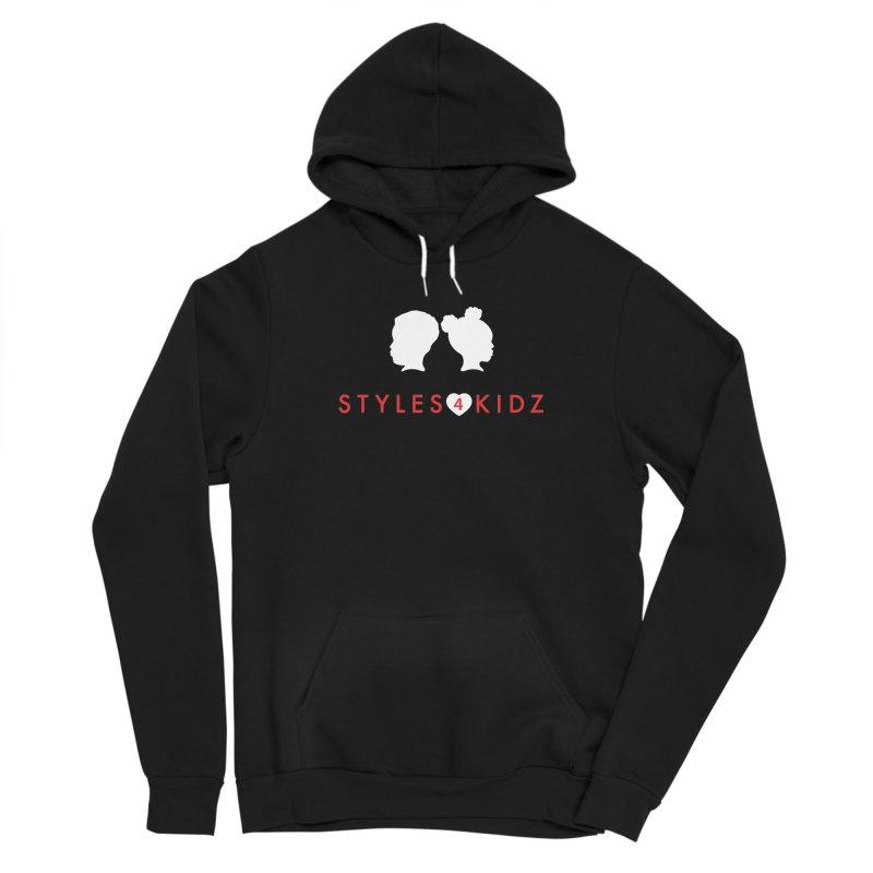 Styles 4 Kidz - Black Women's Sponge Fleece Pullover Hoody by STYLES 4 KIDZ, NFP