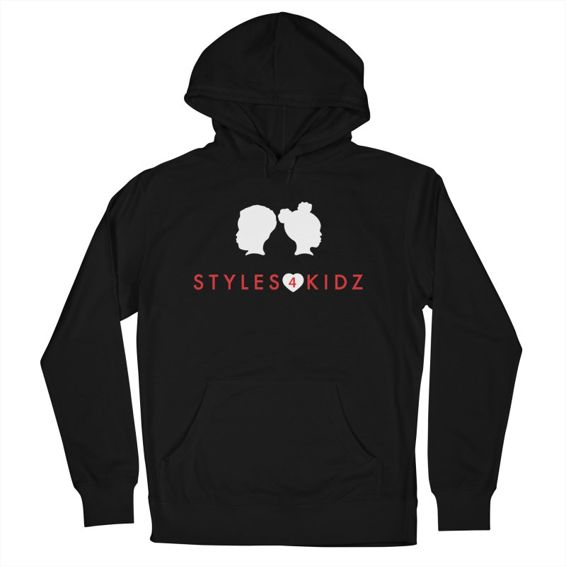 Styles 4 Kidz - Black Women's French Terry Pullover Hoody by STYLES 4 KIDZ, NFP