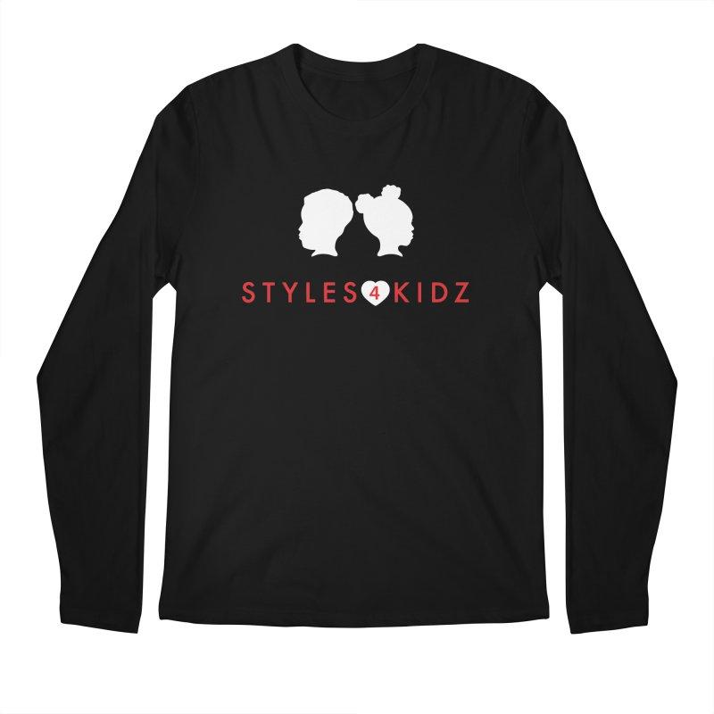 Styles 4 Kidz - Black Men's Longsleeve T-Shirt by STYLES 4 KIDZ, NFP