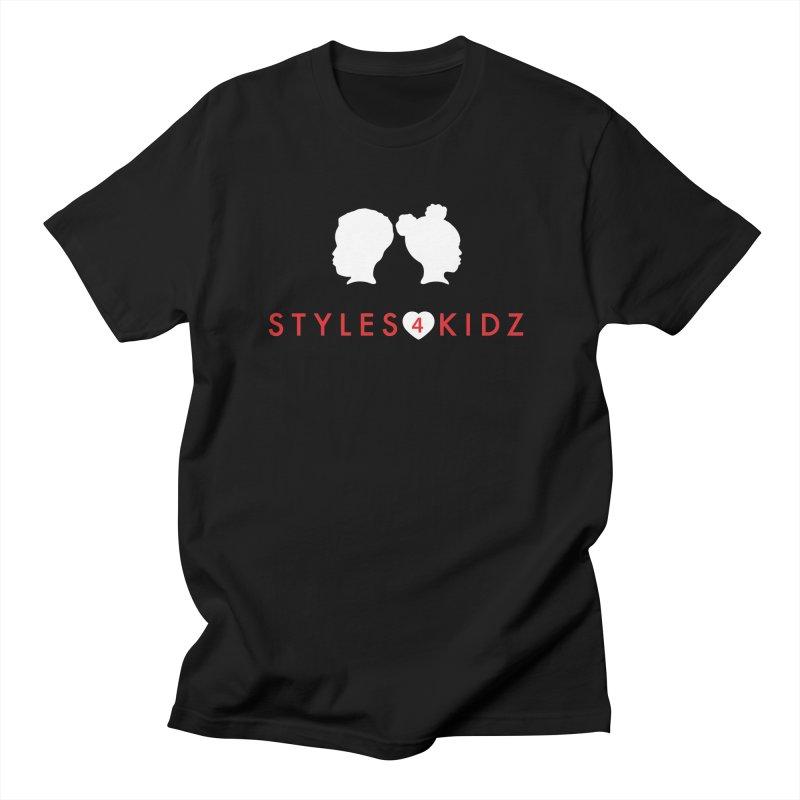 Styles 4 Kidz - Black Men's T-Shirt by STYLES 4 KIDZ, NFP