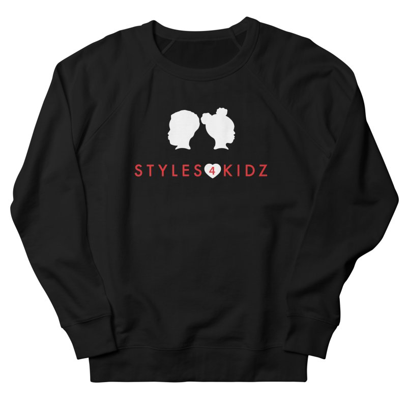 Styles 4 Kidz - Black Men's French Terry Sweatshirt by STYLES 4 KIDZ, NFP