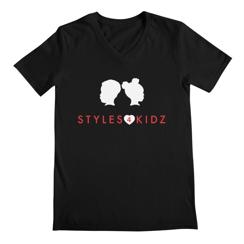 Styles 4 Kidz - Black Men's V-Neck by STYLES 4 KIDZ, NFP