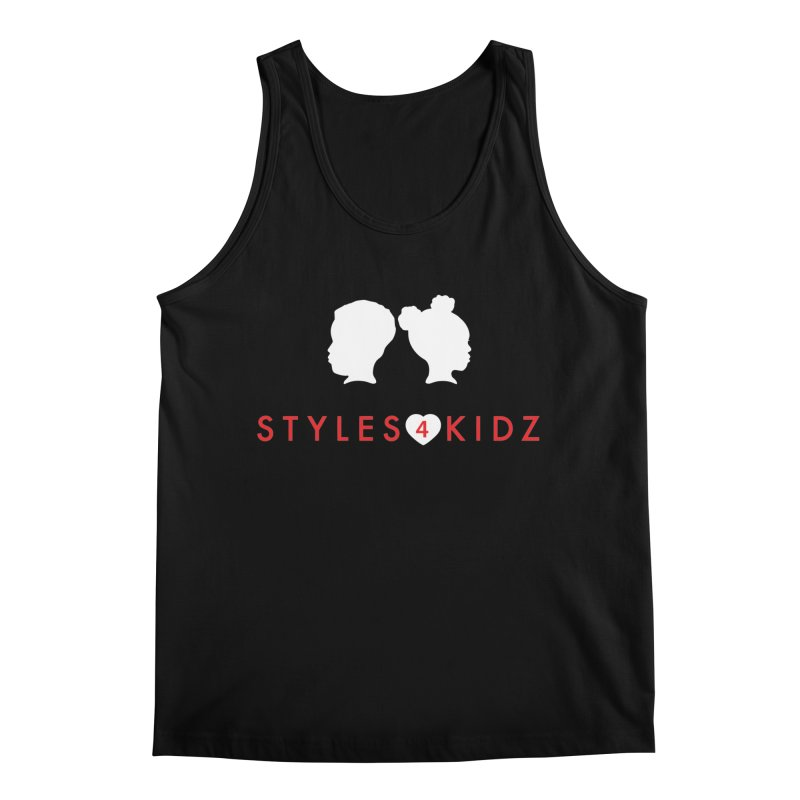 Styles 4 Kidz - Black Men's Regular Tank by STYLES 4 KIDZ, NFP