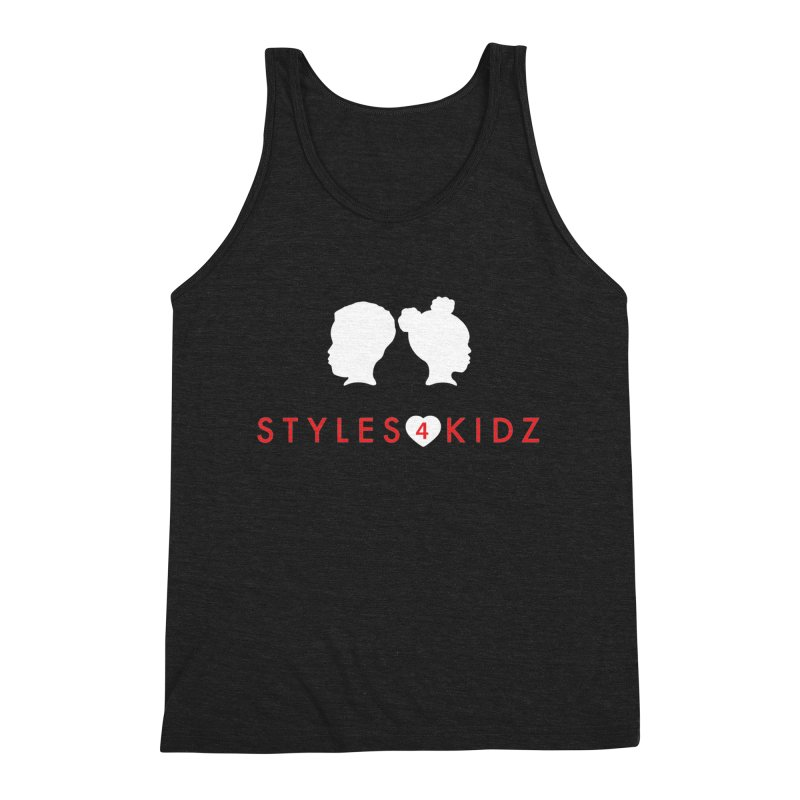 Styles 4 Kidz - Black Men's Triblend Tank by STYLES 4 KIDZ, NFP