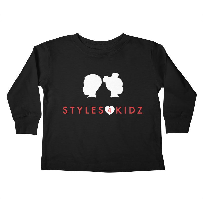 Styles 4 Kidz - Black Kids Toddler Longsleeve T-Shirt by STYLES 4 KIDZ, NFP