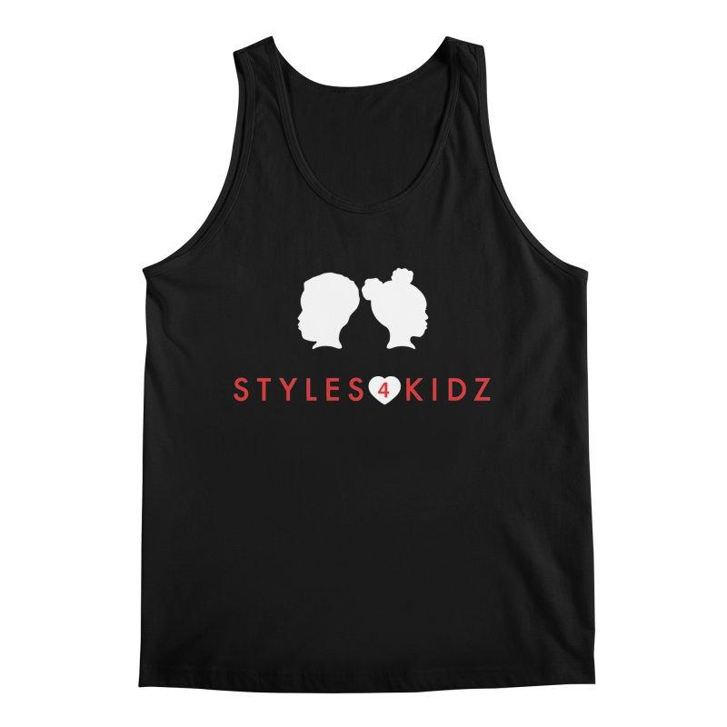 Styles 4 Kidz - Black Men's Regular Tank by STYLES 4 KIDZ, NFP