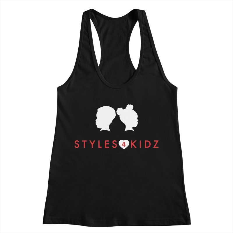 Styles 4 Kidz - Black Women's Racerback Tank by STYLES 4 KIDZ, NFP