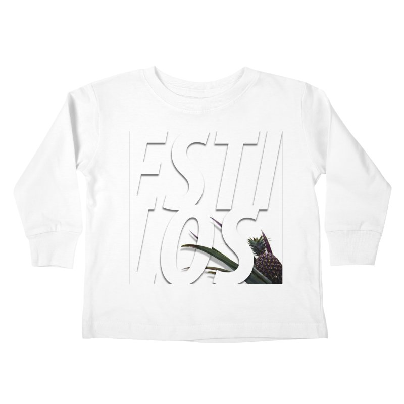 ESTILOS Kids Toddler Longsleeve T-Shirt by Styles in Black
