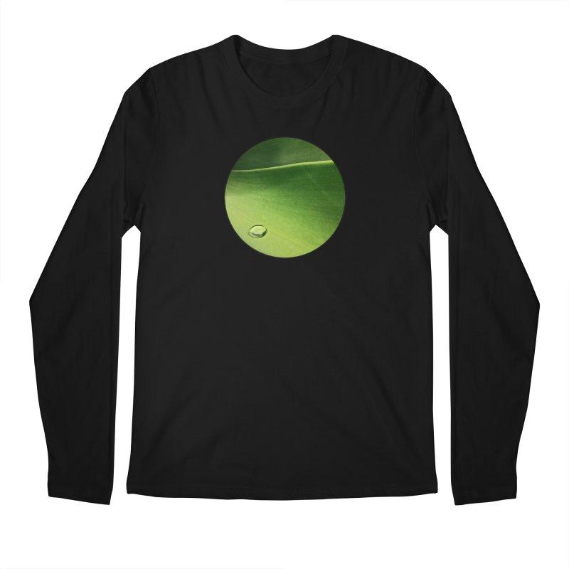 Natural Wisdom Men's Longsleeve T-Shirt by Styles in Black