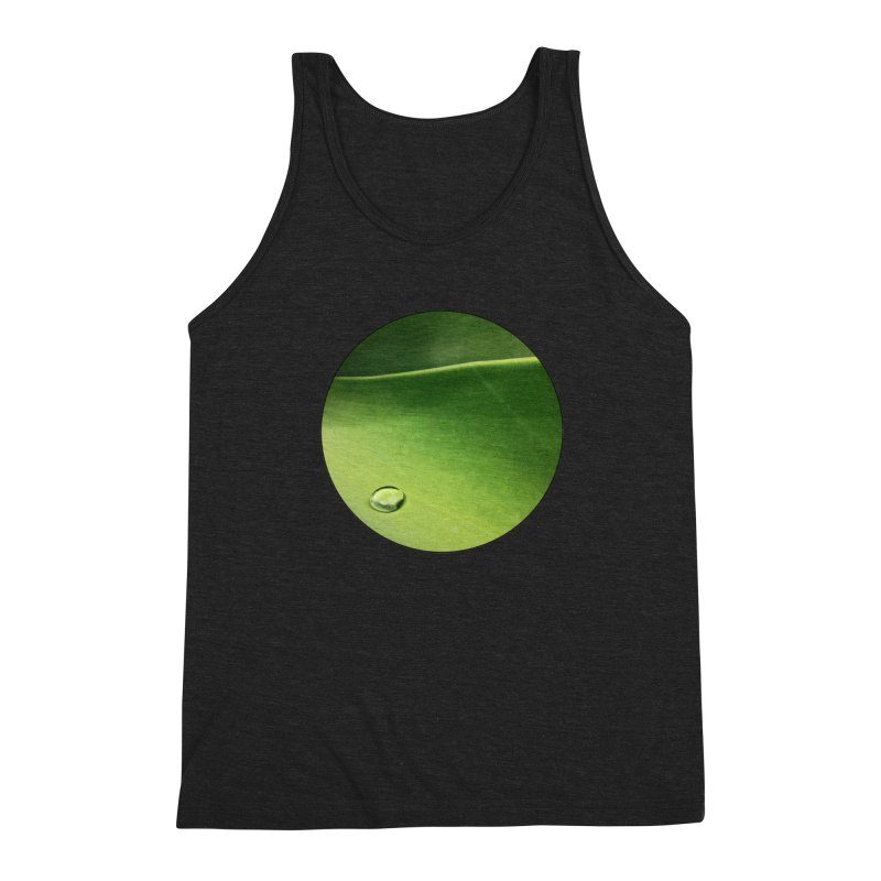Natural Wisdom Men's Triblend Tank by Styles in Black