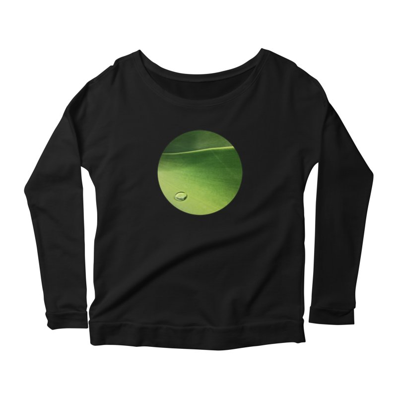 Natural Wisdom Women's Longsleeve T-Shirt by Styles in Black
