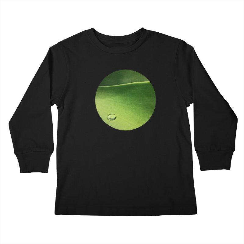 Natural Wisdom Kids Longsleeve T-Shirt by Styles in Black