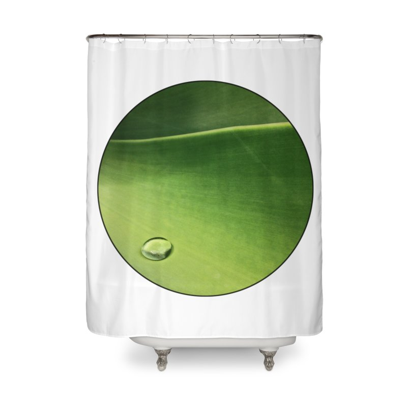 Natural Wisdom Home Shower Curtain by Styles in Black