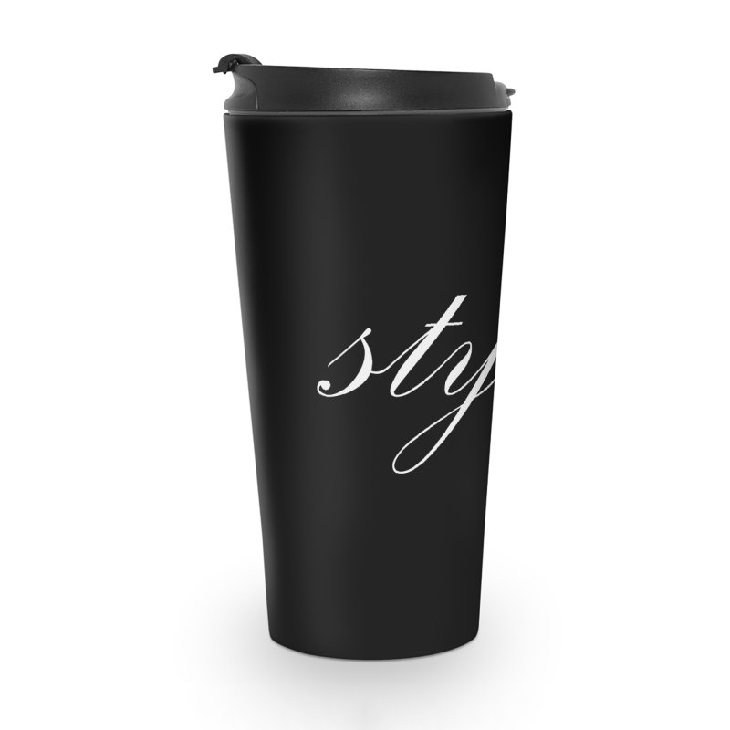 Classic Logo Accessories Mug by Styles in Black