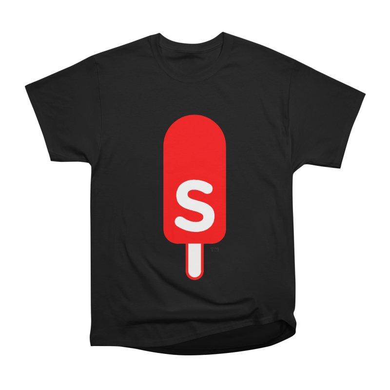 Summer J. Pops logo Men's Heavyweight T-Shirt by Summer J. Pops SWAG Shop