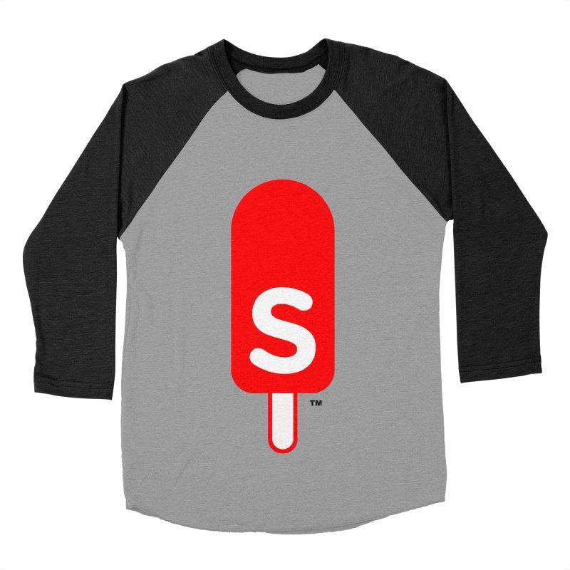 Summer J. Pops logo Women's Baseball Triblend Longsleeve T-Shirt by Summer J. Pops SWAG Shop