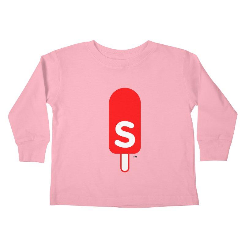 Summer J. Pops logo Kids Toddler Longsleeve T-Shirt by Summer J. Pops SWAG Shop