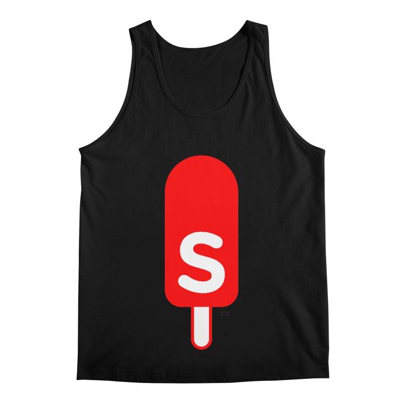 Summer J. Pops logo Men's Regular Tank by Summer J. Pops SWAG Shop