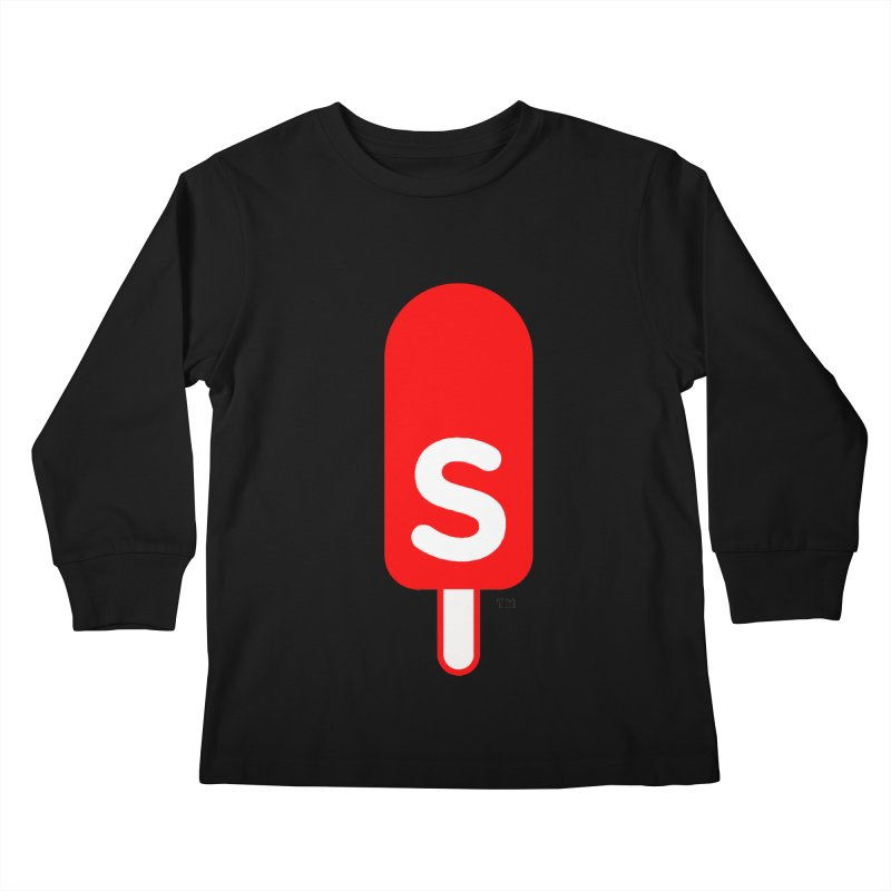 Summer J. Pops logo Kids Longsleeve T-Shirt by Summer J. Pops SWAG Shop