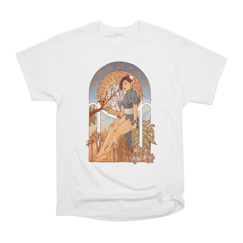Nouveau Chun Li Men's Classic T-Shirt by Sunless's Artist Shop